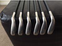 Callaway x2 hot irons, 5-PW, regular graphite