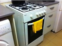 gas cooker and all furniture in 3 bedroom flat must go - beds tables chairs - everything