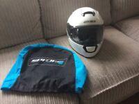 Nearly new crash helmet