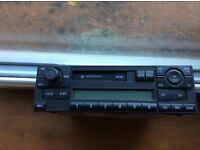 VW Mk4 Golf / Bora Blaupunkt Beta Radio/Cassette - 014VWZ1Z2A5835227B Needs Code