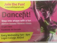Dancefit! Get in shape the fun way - dance yourself fit. A great blend of dance fitness for everyone