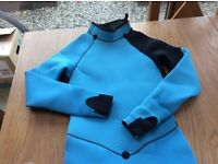 Wetsuits child age 12. Two for sale. Blue and black with long sleeves and legs.