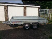 Twin axle box trailer /motorcycle trailer