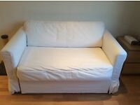 White IKEA sofa bed, good condition, low price