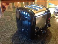 Dualit Classic Toaster, Black, very good condition