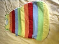 Baby sleeping bag. 0-6 months. 2.5tog. JoJoMamanBebe. Unisex. Excellent Condition.