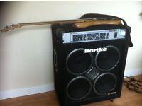 "Hartke VX3500 Professional Bass Amp Combo 4x10"" 350Watt"