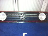 Sold *** Mk2 Vw Golf GTI 4 Lamp Grill With Inner Spots *** Sold £50