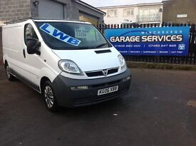 2006 VAUXHALL VIVARO LWB LOW MILES *FULL TIMING BELT KIT* NO VAT YEARS MOT SERVICE HISTORY PLY LINED