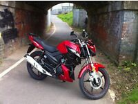 February Offer SAVE £300 Lexmoto Aspire 125cc . Commuter/Touring ,Red now £1200 FINANCE AVAILABLE
