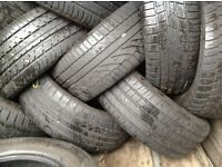 Part worn tyres wholesale top brands/ top quality/ we are based in London barking