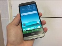 Htc one m8 unlocked good condition