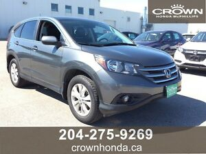 2014 HONDA CR-V EX-L - ONE OWNER, LOCAL TRADE, LEASE RETURN!