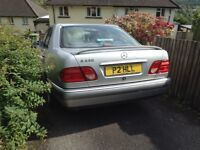 Mercedes for spares or repair