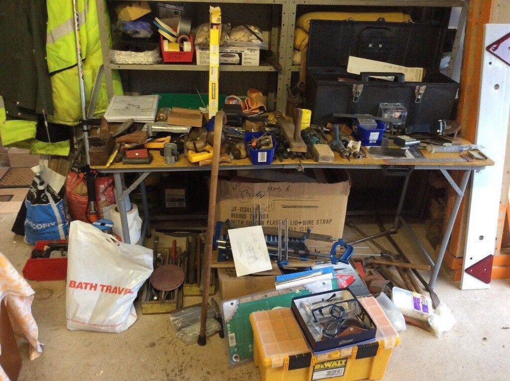 Large selection of used tools.