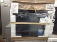 Beko 60cm single fan oven. Black. Price £180. New/graded 12 month Gtee