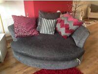 3 seater sofa & large snug chair