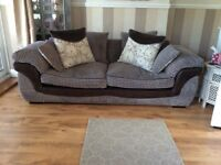 Mink Three Seater Sofa