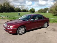 Rover 75 2.0 Cdti connoisseur automatic saloon with tow bar and covered 125500 miles