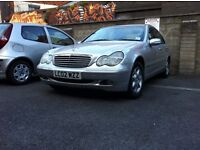 Mercedes Benz C180 Elegance 2.0 Petrol 2002 6speed gearbox for spares or repairs