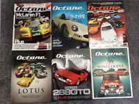 Octane car magazines Ferrari, McLaren, Lotus, Porsche, Mini, Jaguar