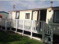 Chapel St Leonard's, Golden palm resort, 4-6 berth caravan, low deposit, amusements, food, bars