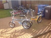 Raleigh chopper .complete / or parts [ for restoration ] Wanted