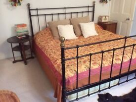 Large furnished room in laid back family house with super king size bed and memory foam mattress