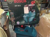 Bosch AXT 25 D quiet Shredder new,Wigan.