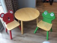 Kids table and chairs John Lewis