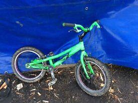 Onza mini master trials bike