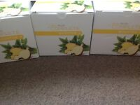 3 boxes juice plus boosters.