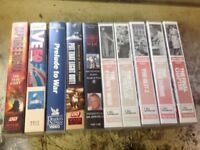 WWII VHS VIDEO TAPES