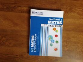 National 5 maths student book. Leckie and leckie