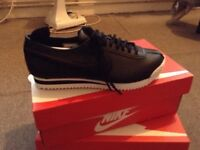 Nike Cortez '72 so women's trainers black size 4 £40