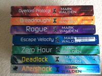 Childrens Mark Walden paperback books x 7