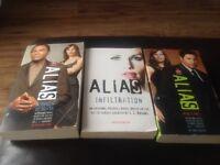 3 x Alias books