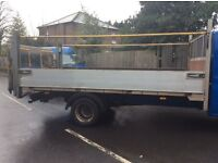 Tail lift drop side lwb 2011 alloy