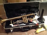 Barely used trumpet, sensible offers