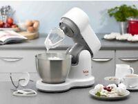 Tefal QB200140 700W Compact Kitchen Machine 3.5 Litre Capacity Pulse Control