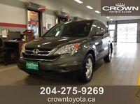 2011 HONDA CRV EX-L TRUE PRICE $19,988.00 + TAXES OAC @ CROWN T