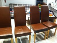 Chairs x 4 for £5 each
