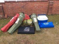 Van go Icarus 500 tent and accessories