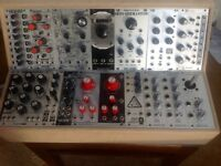 Various Eurorack modules for sale.