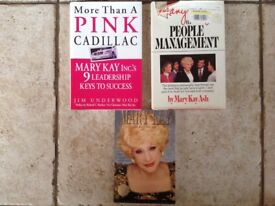 Mary Kay management, leadership and inspirational books
