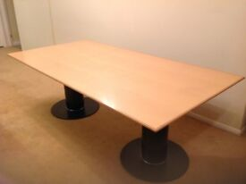 Modern Solid Beech Dining Table