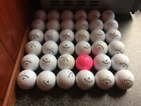34 supersoft callaway golfballs