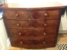 Chest of drawers. Measurements are as depth 54.5cm width 121cm height 100cm