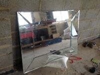 Laura Ashley Bevelled Mirror
