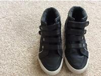 Boys navy shoes from Debenhams